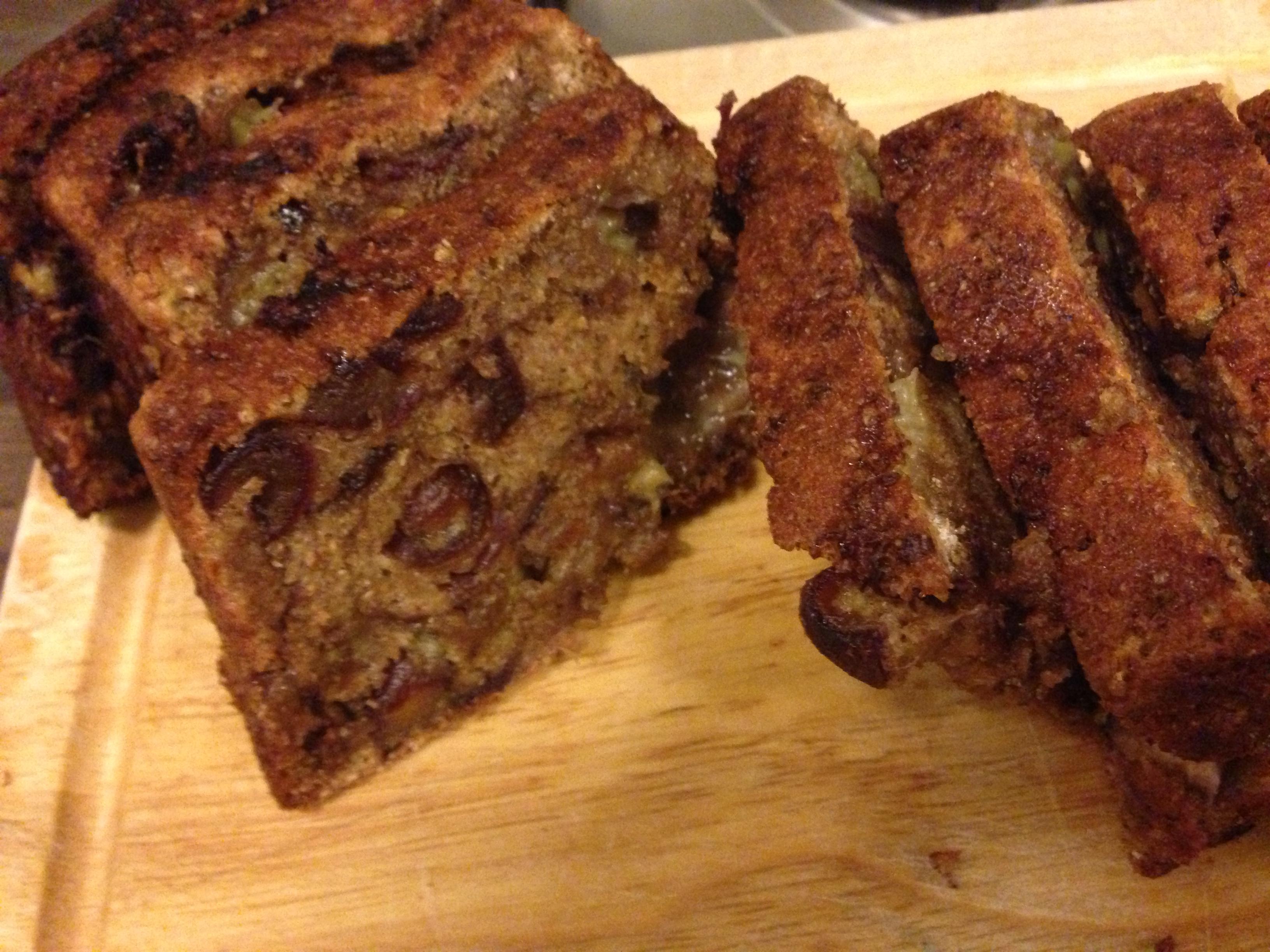 Wholemeal Banana And Walnut Cake Recipe